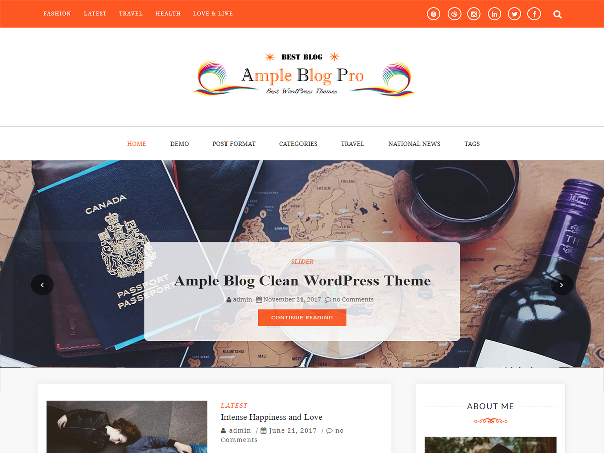 Ample Themes - Best Premium and Free Responsive WordPress Themes